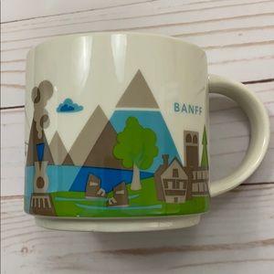 Starbucks Banff You Are Here Series Mug Canada